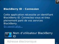 BlackBerry 9320 Curve - BlackBerry activation - BlackBerry ID activation - Étape 6