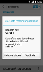 Huawei Ascend Y330 - Bluetooth - Geräte koppeln - 0 / 0