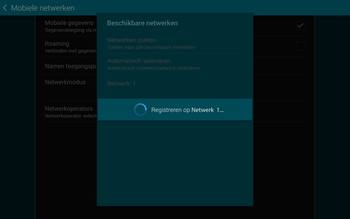 Samsung Galaxy Tab S 10.5 4G (SM-T805) - Buitenland - Bellen, sms en internet - Stap 9