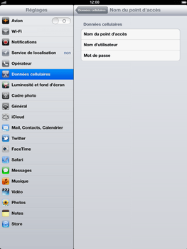 Apple The New iPad - Internet - configuration manuelle - Étape 6