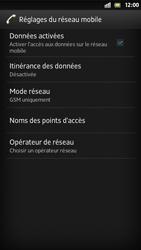 Sony Xperia S - Internet et roaming de données - Désactivation du roaming de données - Étape 8