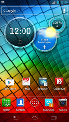 Motorola XT890 RAZR i - MMS - Automatische Konfiguration - Schritt 4