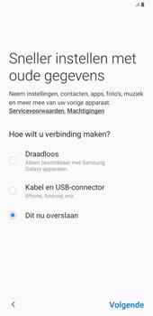 Samsung galaxy-note-8-sm-n950f-android-pie - Instellingen aanpassen - Nieuw toestel instellen - Stap 8