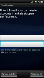 Sony Ericsson MT15i Xperia Neo - E-mail - handmatig instellen - Stap 5