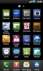 Samsung I5800 Galaxy Apollo - E-mail - Manual configuration - Step 3