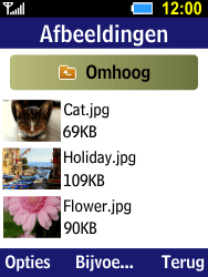 Samsung B550H Xcover 550 - E-mail - e-mail versturen - Stap 11