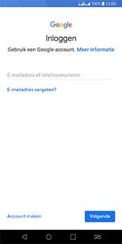 LG Q7 - Applicaties - Account aanmaken - Stap 4