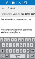Samsung G360F Galaxy Core Prime - E-mail - hoe te versturen - Stap 10