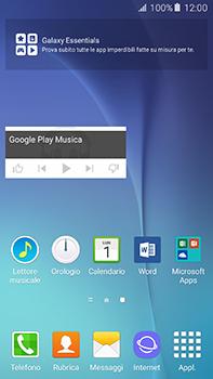 Samsung Galaxy A8 - Operazioni iniziali - Installazione di widget e applicazioni nella schermata iniziale - Fase 9