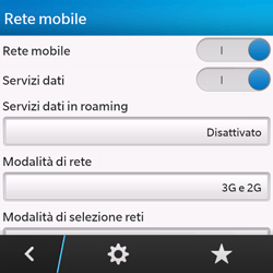 BlackBerry Q10 - Internet e roaming dati - Configurazione manuale - Fase 7