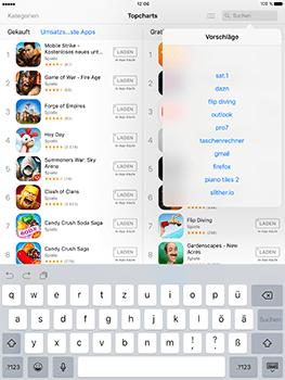 Apple iPad Mini 4 - iOS 10 - Apps - Herunterladen - Schritt 8