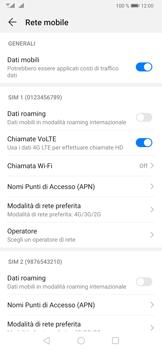 Huawei P30 - Rete - Come attivare la connessione di rete 4G - Fase 7
