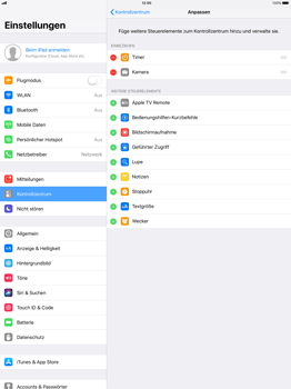 Apple iPad Pro 12.9 inch - iOS 11 - Kontrollzentrum - 5 / 8