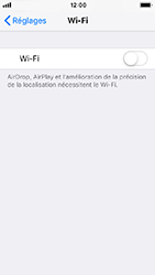 Apple iPhone SE - iOS 12 - Wifi - configuration manuelle - Étape 3
