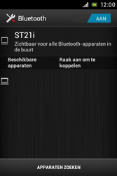 Sony ST21i Xperia Tipo - bluetooth - aanzetten - stap 7