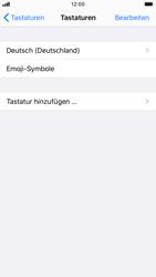 Apple iPhone 6s - iOS 13 - Startanleitung - So fügen Sie eine Tastatursprache hinzu - Schritt 6