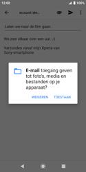 Sony xperia-xz2-compact-h8314-android-pie - E-mail - Bericht met attachment versturen - Stap 11