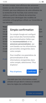 Samsung Galaxy A31 - Applications - Créer un compte - Étape 18