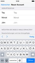 Apple iPhone 5S mit iOS 8 - Apps - Konto anlegen und einrichten - Schritt 27
