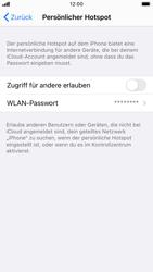 Apple iPhone SE (2020) - iOS 14 - WiFi - So aktivieren Sie einen WLAN-Hotspot - Schritt 4