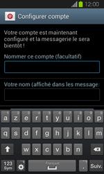 Samsung I8730 Galaxy Express - E-mail - Configuration manuelle - Étape 17