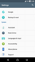 Sony Xperia XA (F3111) - Android Nougat - Device - Software update - Step 5