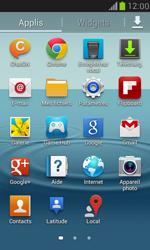 Samsung Galaxy S III Mini - Internet et roaming de données - Comment vérifier que la connexion des données est activée - Étape 3
