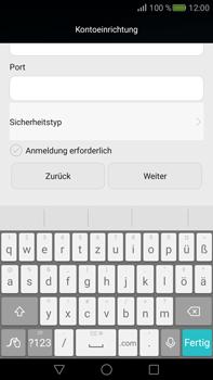Huawei Mate S - E-Mail - Konto einrichten - Schritt 15