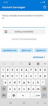 Samsung Galaxy S20 Ultra - e-mail - handmatig instellen - stap 8
