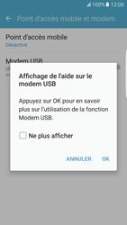 Samsung Galaxy S7 Edge - Internet et connexion - Utiliser le mode modem par USB - Étape 7
