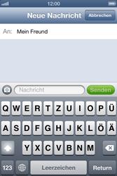 Apple iPhone 4S - MMS - Erstellen und senden - Schritt 9