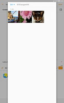 Samsung Galaxy Tab A 10-1 - MMS - Erstellen und senden - Schritt 20