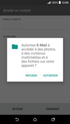 HTC Desire 530 - E-mails - Ajouter ou modifier un compte e-mail - Étape 19