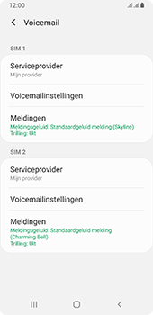 Samsung galaxy-a8-2018-sm-a530f-android-pie - Voicemail - Handmatig instellen - Stap 7