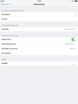 Apple iPad Mini 4 - E-mail - Handmatig instellen - Stap 22