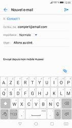 Huawei P9 - Android Nougat - E-mail - envoyer un e-mail - Étape 8