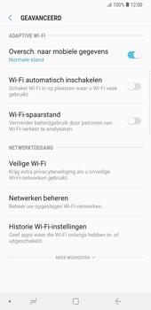 Samsung Galaxy Note9 - wifi - schakel Wi-Fi Assistentie uit - stap 10
