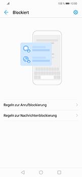 Huawei Nova 3 - Anrufe - Anrufe blockieren - Schritt 5