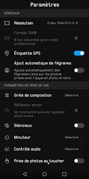 Huawei Mate 10 Pro - Photos, vidéos, musique - Prendre une photo - Étape 9