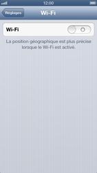 Apple iPhone 5 - WiFi - configuration du WiFi - Étape 6