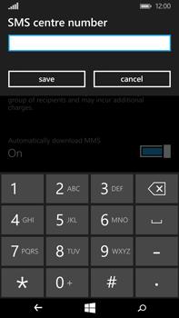 Microsoft Lumia 640 XL - SMS - Manual configuration - Step 7