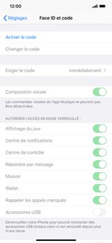 Apple iPhone XS Max - iOS 13 - Sécurité - activéz le code PIN de l'appareil - Étape 4
