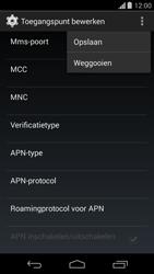 Motorola Moto G - internet - handmatig instellen - stap 15
