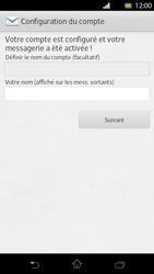 Sony Xperia T - E-mail - Configuration manuelle - Étape 16