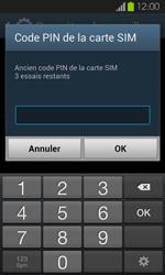 Samsung Galaxy S2 - Sécuriser votre mobile - Personnaliser le code PIN de votre carte SIM - Étape 7