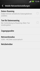 HTC One - Ausland - Auslandskosten vermeiden - Schritt 8
