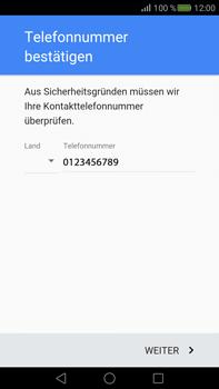 Huawei Mate S - Apps - Konto anlegen und einrichten - Schritt 6