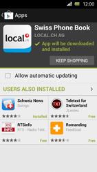 Sony Xperia U - Applications - Installing applications - Step 9