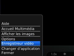 BlackBerry 8520 - Photos, vidéos, musique - Créer une vidéo - Étape 5