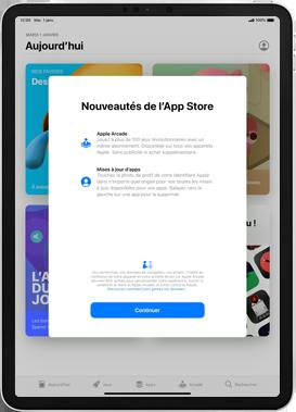 Apple iPad Pro 12.9 (2018) - ipados 13 - Applications - Comment vérifier les mises à jour des applications - Étape 3